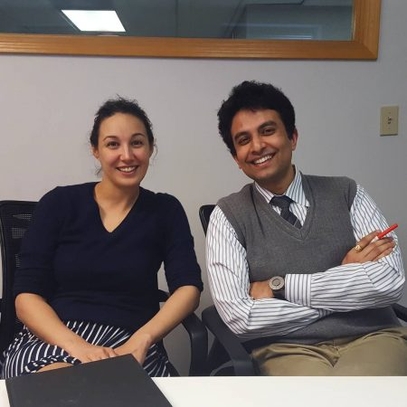 Katie Boody and Aditya Voleti of the Lean Lab