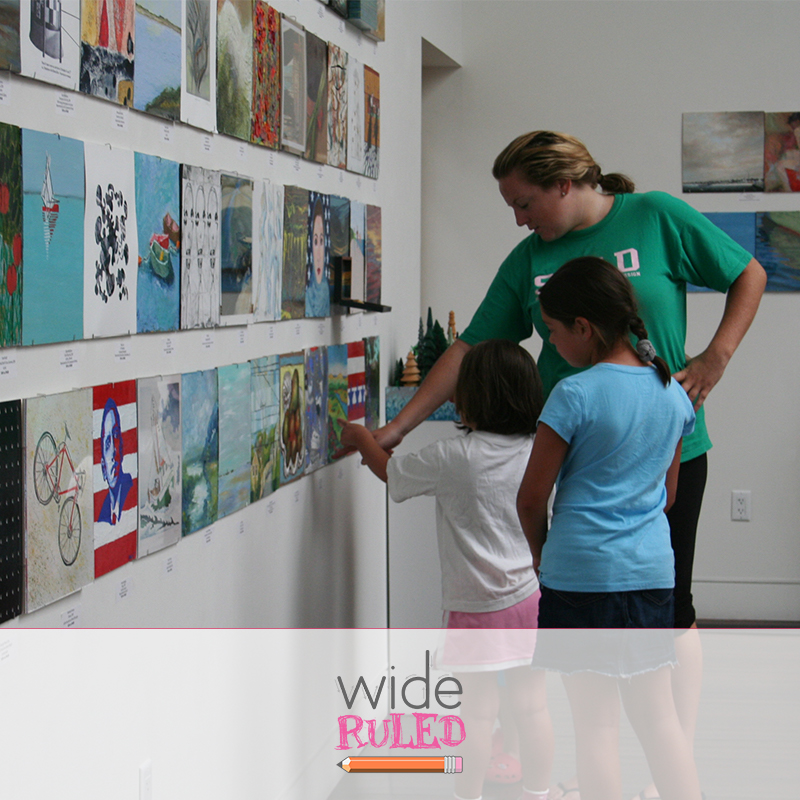 Wide Ruled – Ep. 016: Thinking Through Art