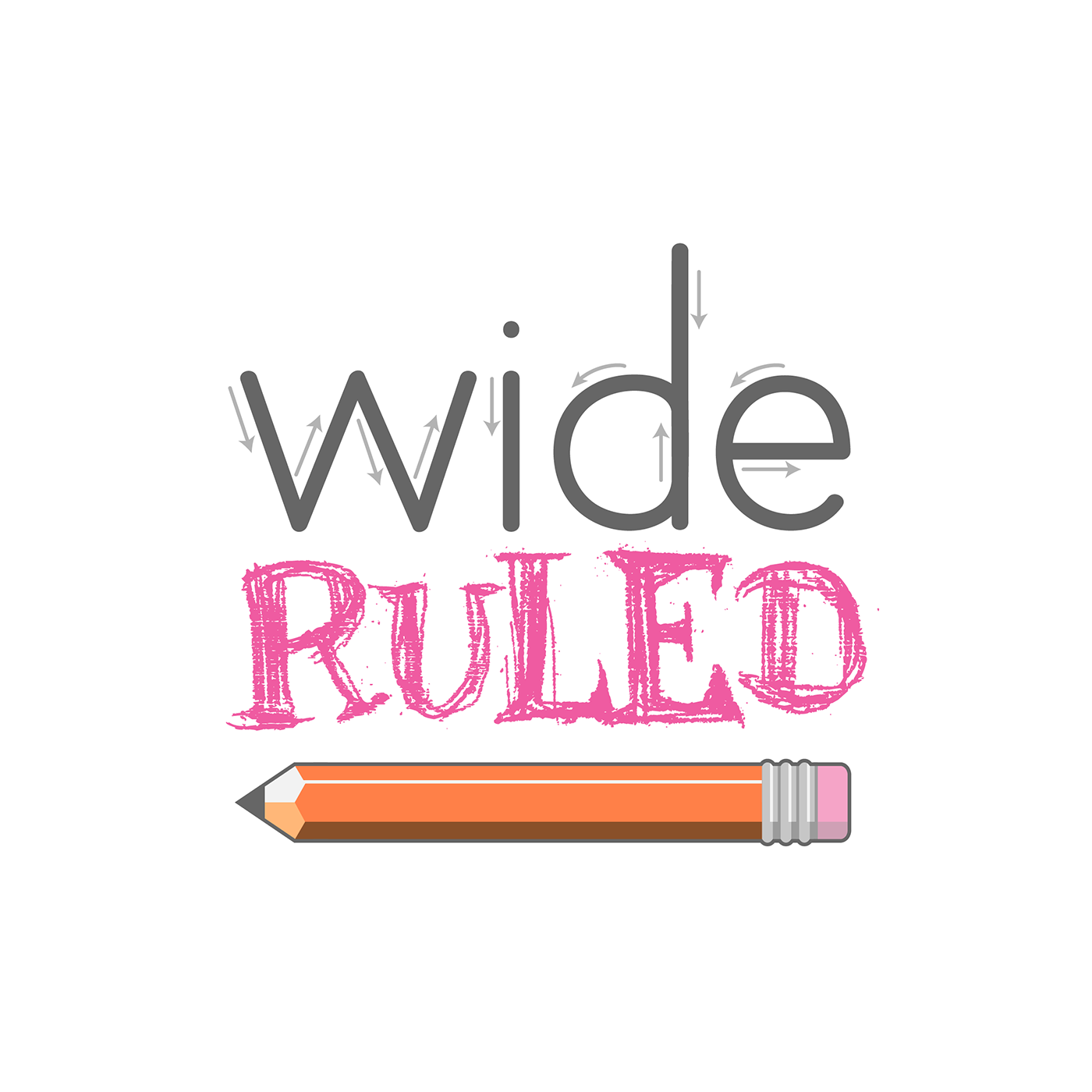 Wide Ruled Podcast Logo